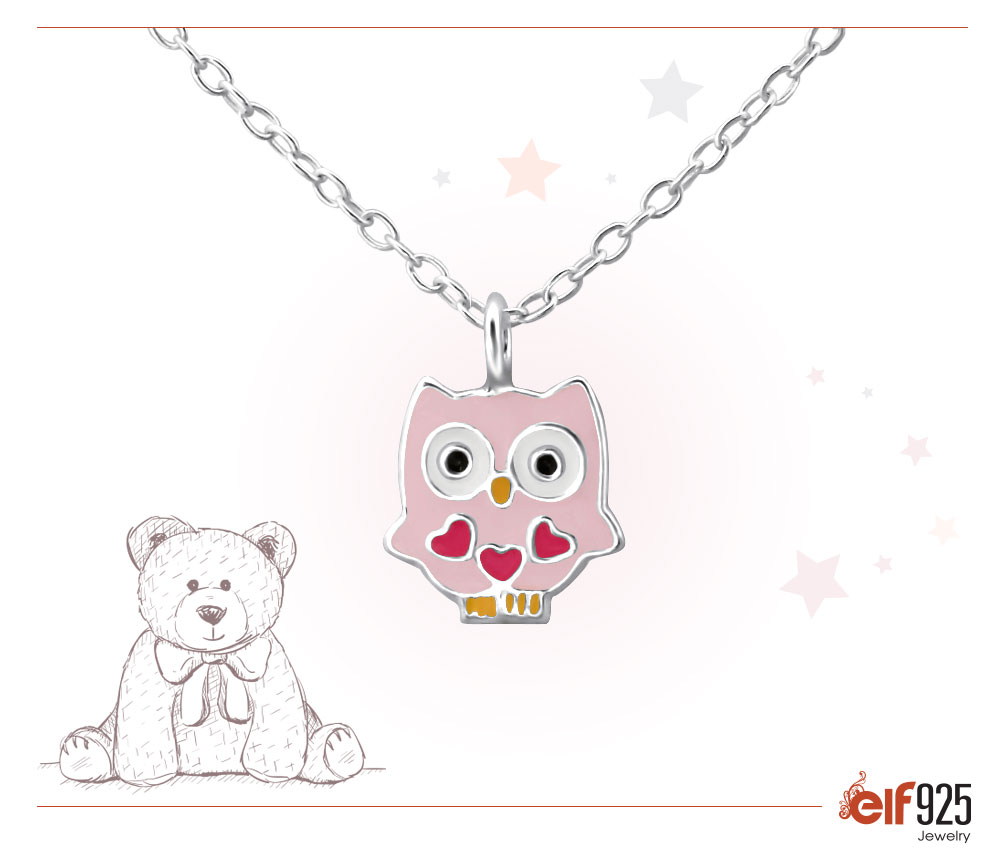 Photo of Children's Sterling Silver Jewelry Necklace