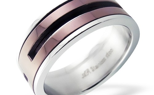 stainless steel rings image