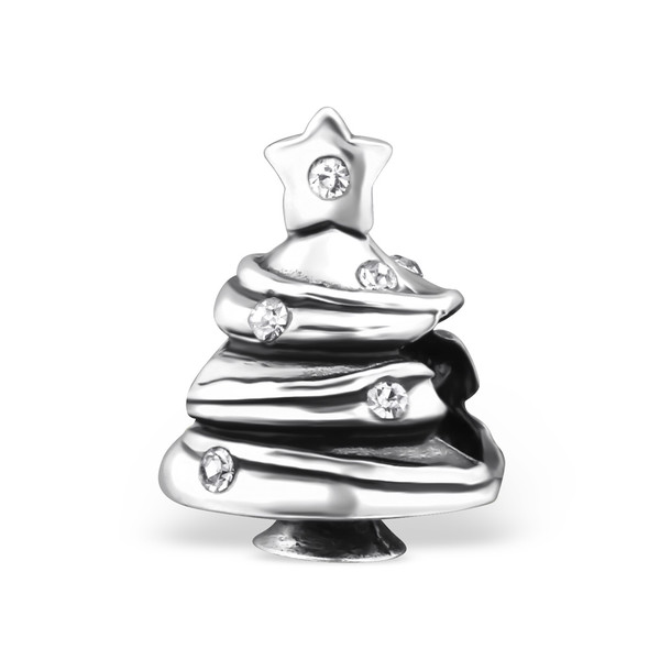 silver-christmas-tree-bead-with-cubic-zirconia