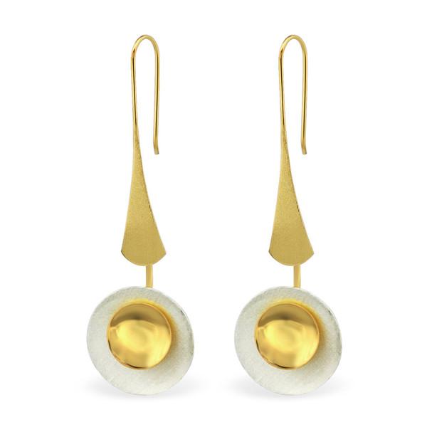 silver-harmonys-silver-sunflower-plain-earrings