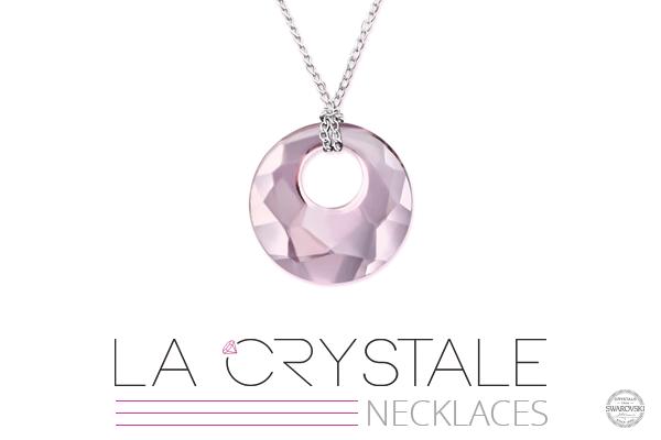 Sterling Silver Necklaces Range with Swarovski® Crystals