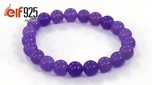 Lilac Amethyst Gemstone Bracelets Wholesale