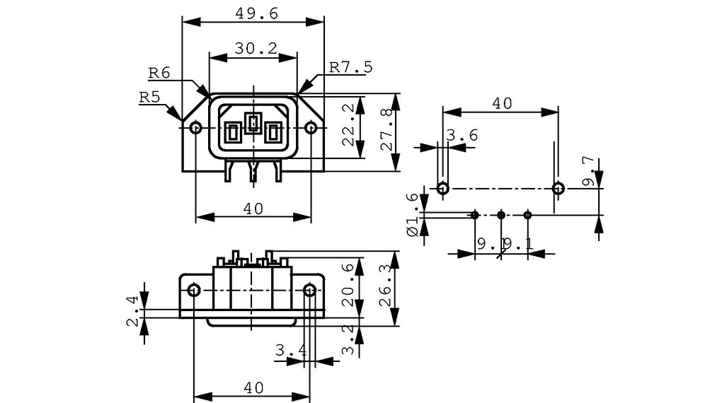 Wiring diagram bulgin plug