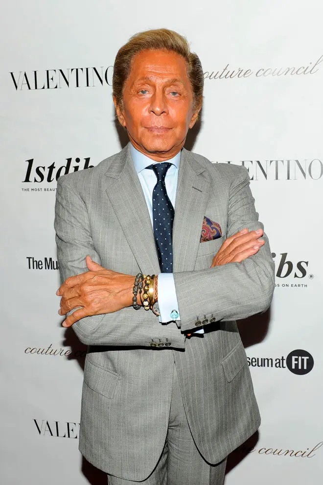 Valentino== THE COUTURE COUNCIL of the MUSEUM at FIT 7th Annual Award Benefit Luncheon Honoring VALENTINO== David H. Koch Theater, Lincoln Center, NYC== September 7, 2011== © Patrick McMullan== Photo - Nicholas Hunt / PatrickMcMullan.com== ==