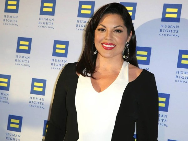 """FILE - In this March 14, 2015 file photo, Sara Ramirez arrives at the 2015 Human Rights Campaign Gala Dinner at the JW Marriott LA Live in Los Angeles. Surgeon Callie Torres is turning in her scalpel at Grey Sloan Memorial Hospital. Ramirez, who plays Dr. Torres on """"Grey's Anatomy,"""" tweeted Thursday, May 19, 2016, that she's taking """"welcome time off"""" after 10 years with the ABC medical drama. (Photo by Rich Fury/Invision/AP, File)"""