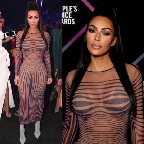 Kim Kardashian y Kris Jenner People's Choice Awards