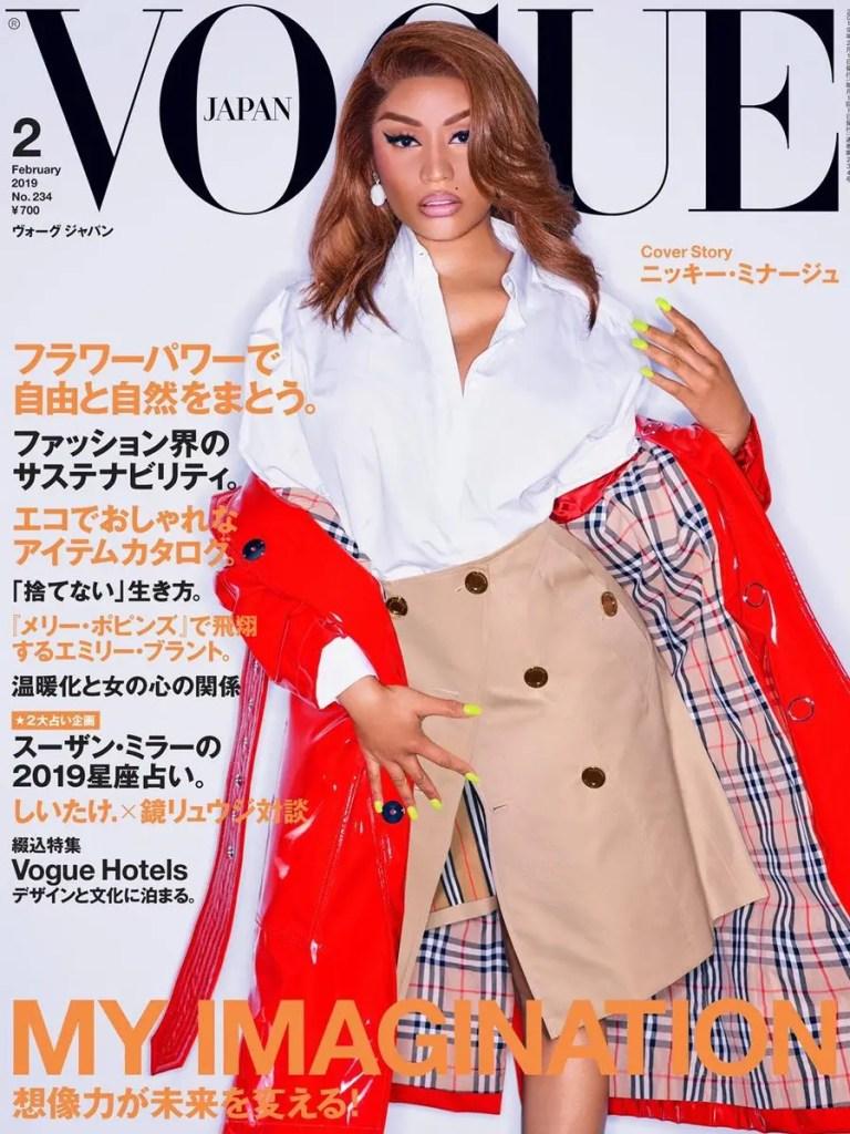 Nicki Minaj Vogue