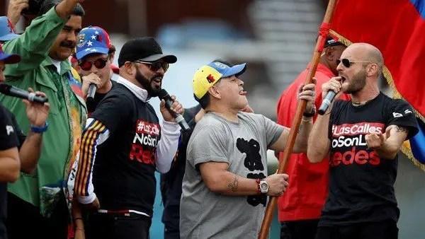 Manos fuera de Venezuela