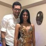 Sthefany Gutiérrez y Michael Carrera