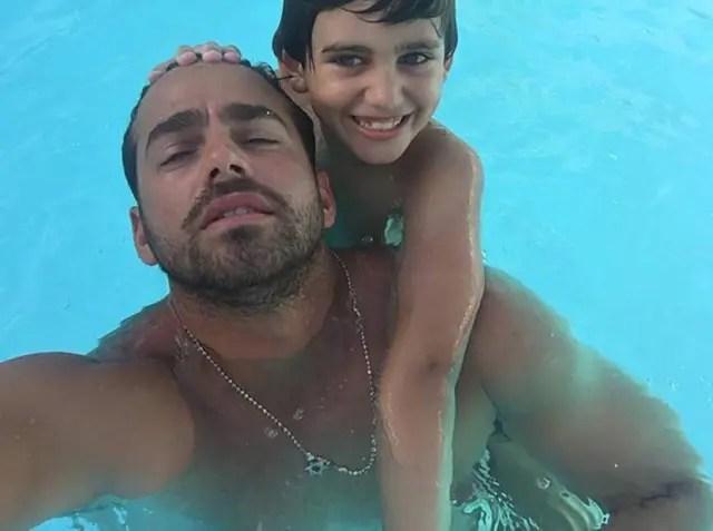 Hijo de Manuel Sosa y Shannon de Lima