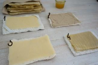 Honig-Brustwickel selbermachen
