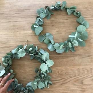Eukalyptus Kranz DIY