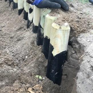 Palidsaden Sandkiste bauen