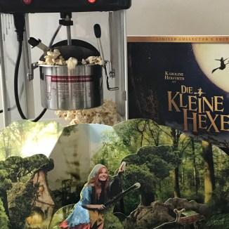 die kleine hexe und popcorn