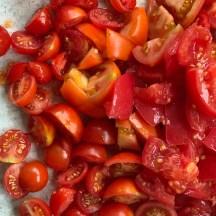 Den Sommer einfangen! Rote Beete Tomaten Pasta Rezept um all die Gaben, die der Garten uns schenkt zu verarbeiten.