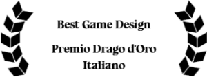 Best Game Design at Premio Drago D'oro Italiano for the stained glass adventure game Little Briar Rose