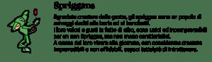 Descrizione cultura degli spriggan dall'avventura grafica a vetrate Little Briar Rose