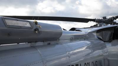 Colombia ofrece recompensa para dar con atacantes del helicóptero donde viajaba el presidente