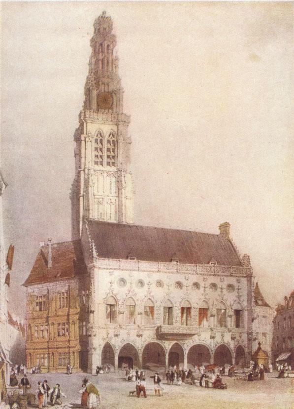 Arras Hotel De Ville In Beautiful Buildings In France And