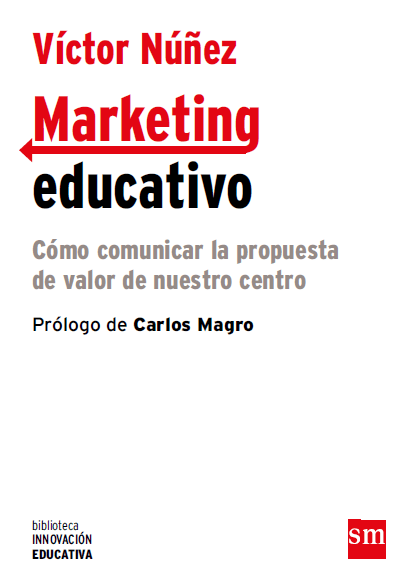 "Portada del libro de Víctor Núñez ""Marketing Educativo"""