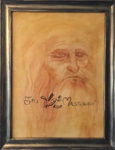 Leonardo da Vinci / Ölgemälde