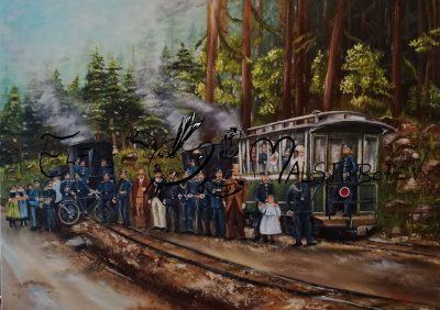 Trusebahn / Trusetal / Heeresbahn / Zwillingsbahn / Feldbahn / Dampflok