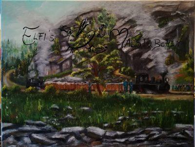 Trusebahn / Trusetal / Feldbahn / Zwillingsbahn / Schmalspurbahn / Dampflok