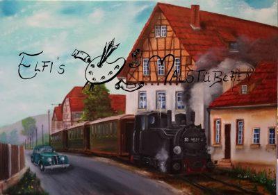 Trusetal / Trusebahn / Dampflok / Schmalspurbahn