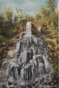 Druck Trusetaler Wasserfall
