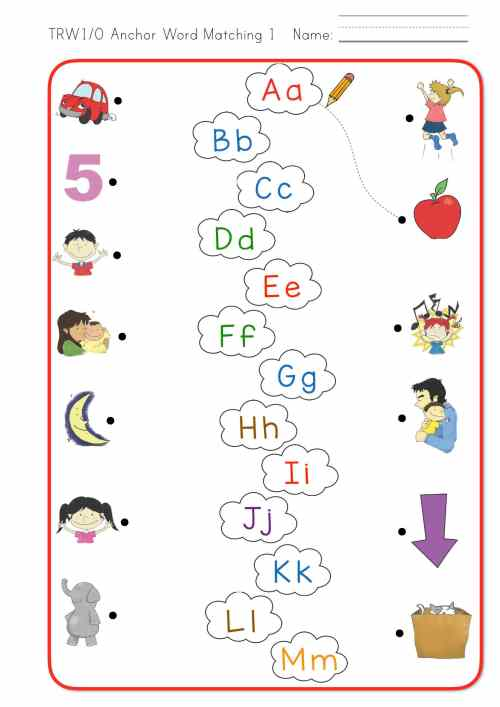 small resolution of Think Read Write 1 Worksheet Pack - ELF Learning
