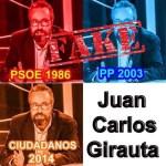Juan Carlos Girauta ha militado en muchos partidos, no tiene ideología. MENTIRA