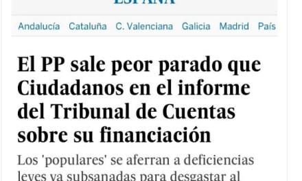 Financiación ilegal de Ciudadanos. MENTIRA