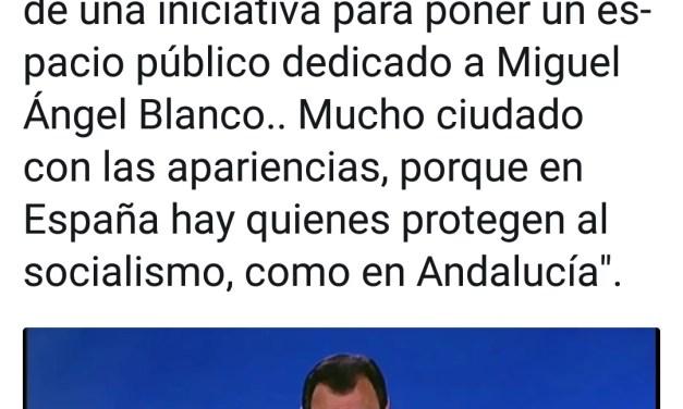 Ciudadanos Zamora No apoya homenajes a Miguel Angel Blanco. MENTIRA