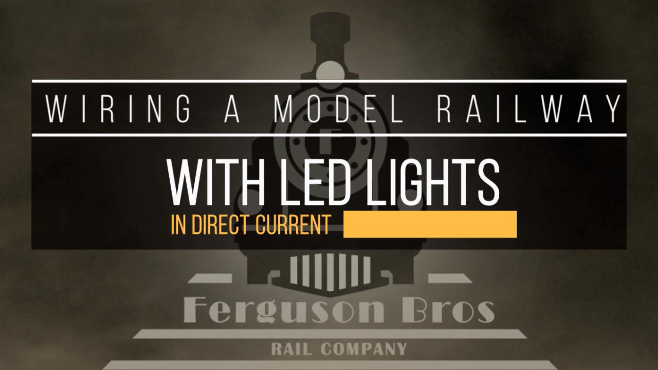 Model Railway Wiring Diagram