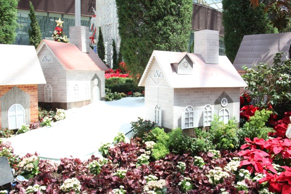 christmas miniature houses