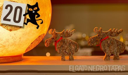 Reindeer on the march for Day 20 of #Advent!