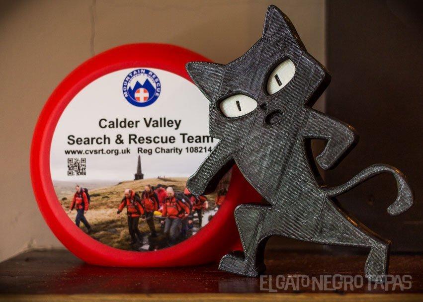 El Gato Negro CVSRT collection box
