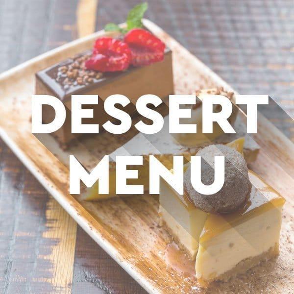 Desserts at El Gato Negro