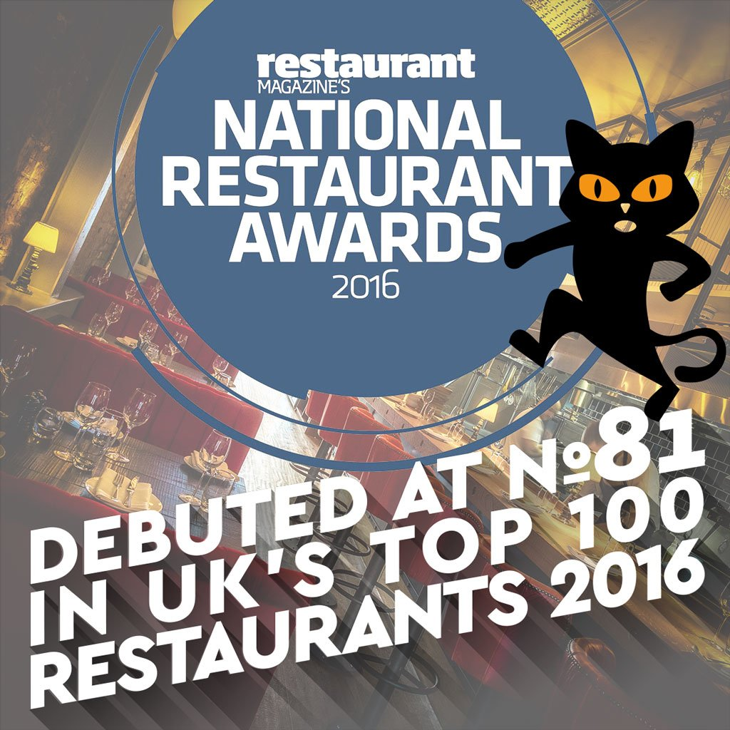 El Gato Negro placed at 81 in national Top 100 restaurants list