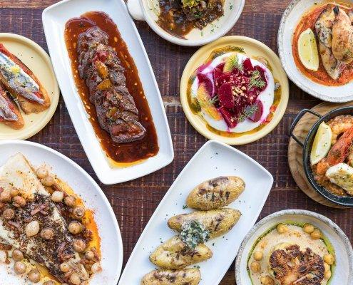 Autumn 2018 dishes at El Gato Negro