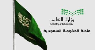 منحة الحكومة السعودية