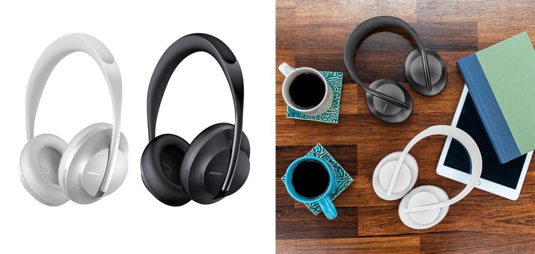 Bose Noise Cancelling Headphones 700 finns i svart och silver