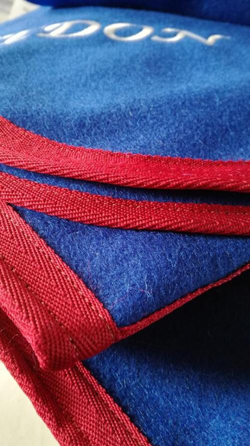 couvre reins laine personnalisées