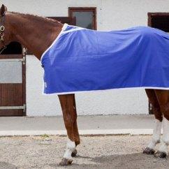 couverture bleu roi