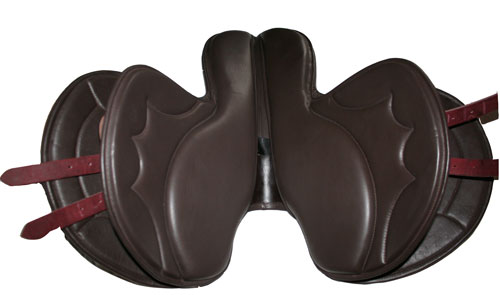 Race exercise saddle for horse race training ,