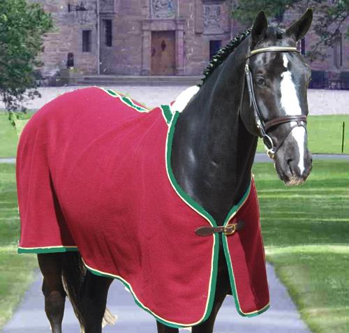 couverture cheval en laine