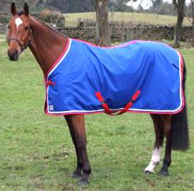 couverture cheval coton personnalisée