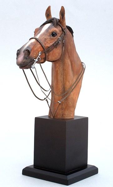 trophée cheval