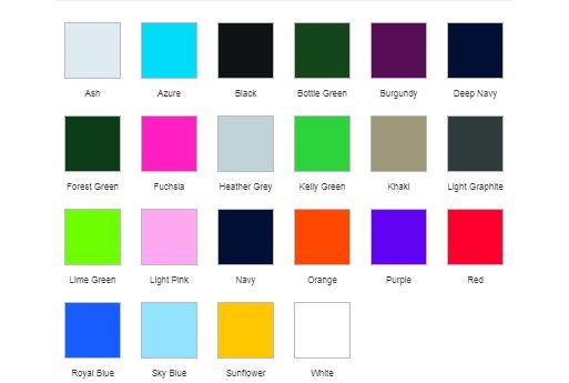 polo couleurs
