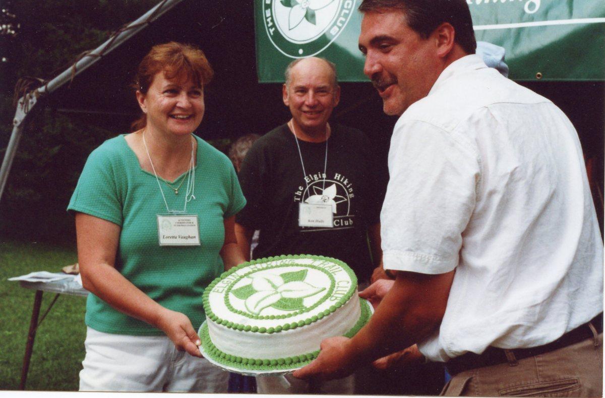 Loretta, Ken Hulls - President 2000/2001, Steve Peters - MPP Elgin